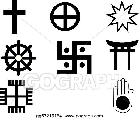 Vector Stock Five Different Native American And African Symbol