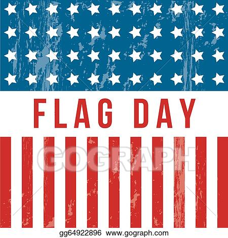 vector art flag day eps clipart gg64922896 gograph rh gograph com flag day clip art free download flag day clipart black and white