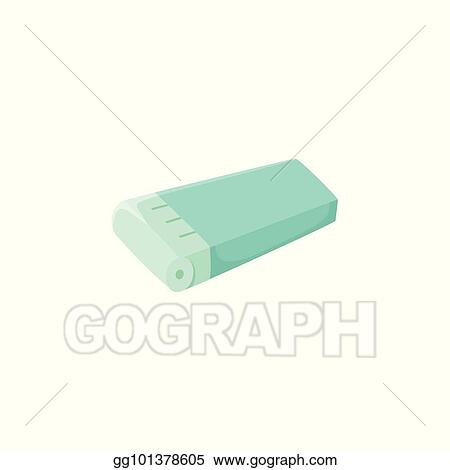 Vector Clipart Flat Icon Of Wax Cartridge Hair Removal Tool