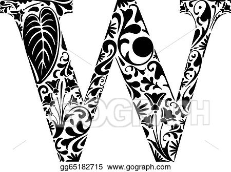Vector Illustration Floral W Eps Clipart Gg65182715 Gograph