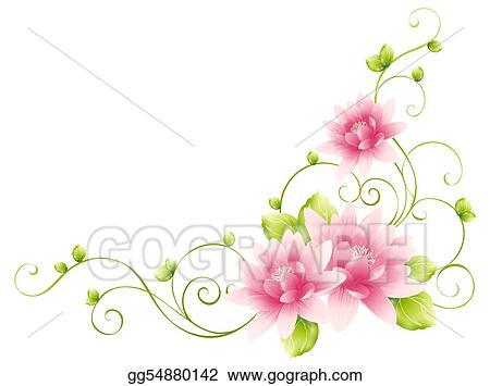 stock illustrations flower and vines stock clipart spring season clip art free spring season clipart