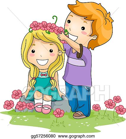 Stock Illustration Flower Crown Clipart Illustrations Gg57256080 Gograph Affordable and search from millions of royalty free images, photos and vectors. flower crown clipart illustrations