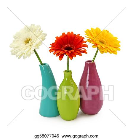 Stock Image Flowers In Vases Stock Photo Gg58077046 Gograph