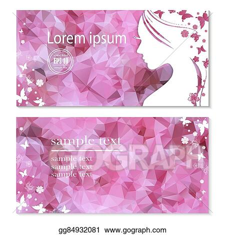 Clip Art Vector Flyer With Female Profile Mother S Day Stock Eps Gg84932081 Gograph