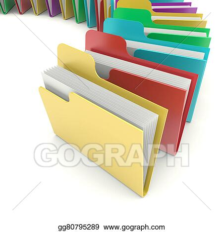 drawing folders clipart drawing gg80795289 gograph