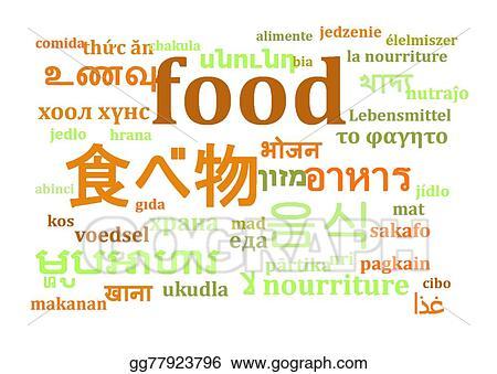 Background Makanan Clipart