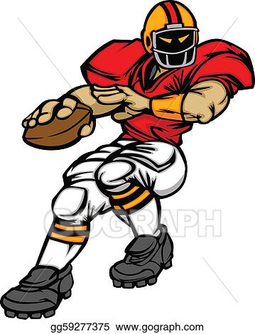Throwing A Football Clipart 29872 Loadtve