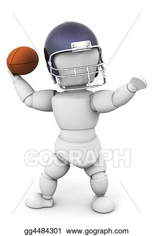 Drawings Football Player Stock Illustration Gg4484301 Gograph