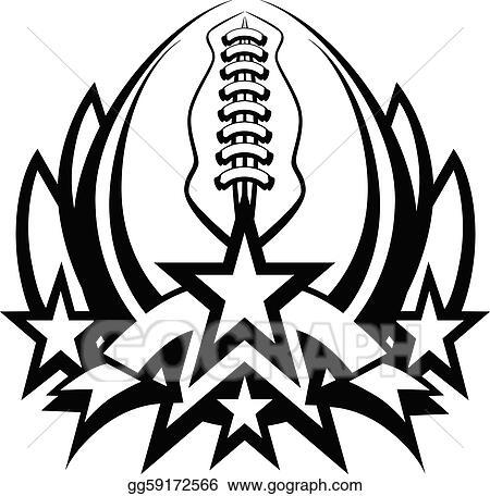 Vector art football vector graphic template wi clipart drawing football vector graphic template wi maxwellsz