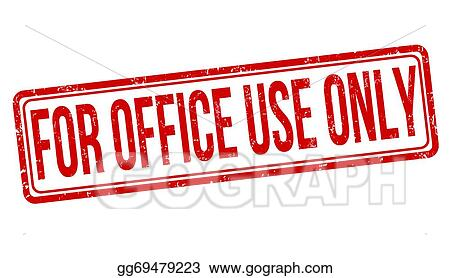 vector stock for office use only stamp stock clip art gg69479223