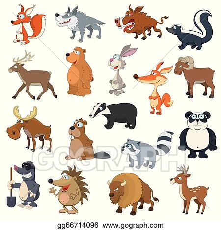 Forest Animal Clip Art Royalty Free Gograph
