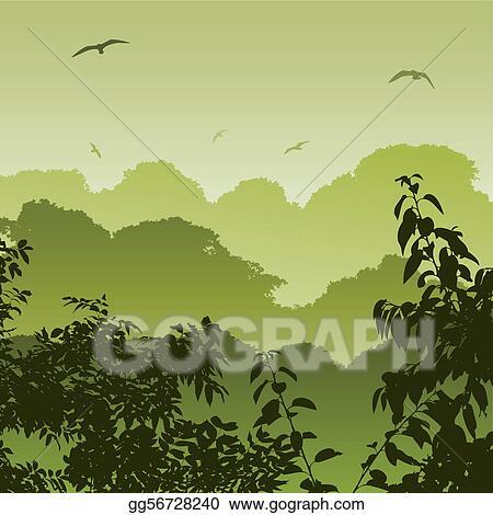 Free Forest Landscape Clip Art Free Download