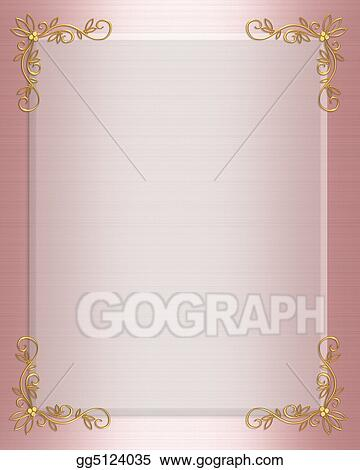 Drawing formal invitation border pink clipart drawing gg5124035 formal invitation border pink stopboris Choice Image