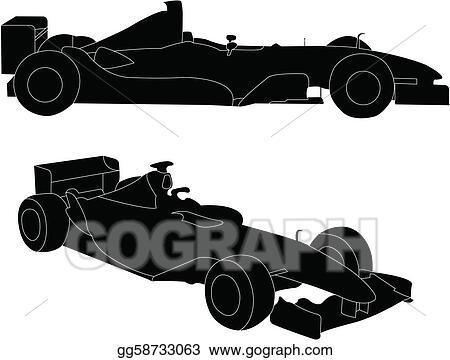 vector art formula car clipart drawing gg58733063 gograph