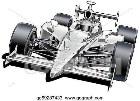 clip art formula style race car stock illustration gg59287433