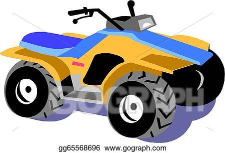 vector stock four wheel motorcycle stock clip art gg65568696 rh gograph com