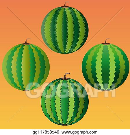 Whole Watermelon Clip Art Royalty Free Gograph