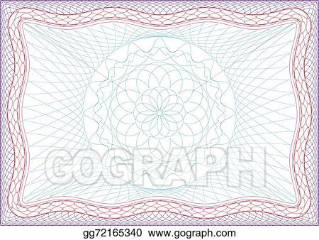 Vector Stock - Frame for diploma or passport. Stock Clip Art ...