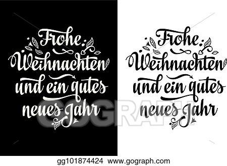 Frohe Weihnachten Aus Deutschland.Eps Illustration Frohe Weihnacht Neues Jahr Christmas In