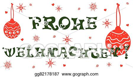 Weihnachten Clipart.Vector Stock Frohe Weihnachten Clipart Illustration Gg82178187
