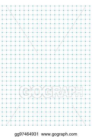 eps illustration full page centimeter dot paper vector vector