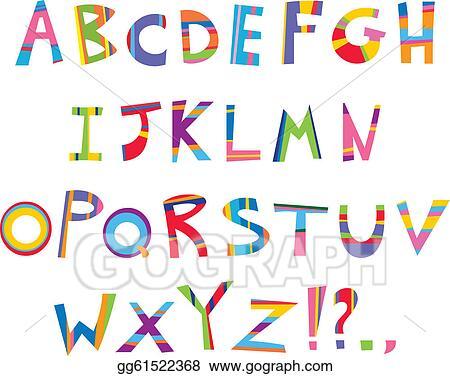 Alphabet Clip Art Royalty Free Gograph