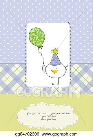 Astonishing Vector Art Funny Birthday Party Greeting Card Clipart Drawing Personalised Birthday Cards Bromeletsinfo