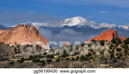 Picture Garden Of The Gods Stock Photos Gg56199430 Gograph