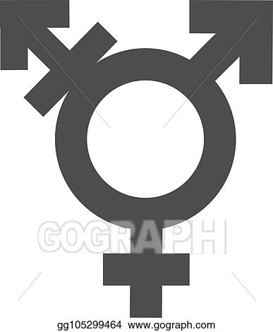 clip art vector gender inequality and equality icon symbol male female girl boy woman man transgender icon mars vector symbol illustration stock eps gg105299464 gograph https www gograph com clipart license summary gg105299464
