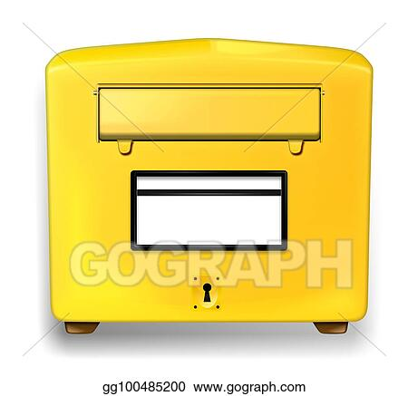 Drawing German Letter Box Clipart Drawing Gg100485200 Gograph