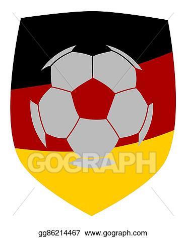 Love German Football Soccer Icons Set Stock Vector (Royalty Free) 199105700