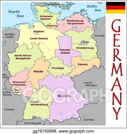 Vector Clipart - Germany administrative divisions. Vector ... on germany industry map, germany political map, germany cities map, germany travel map, germany landmark map, germany water map, east germany map, germany major city map, germany surname map, germany country map, germany latitude map, germany power map, germany world map, germany located on map, germany road map, germany capital map, germany culture map, germany map with states, germany region map, germany postal map,