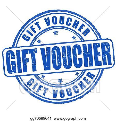 Vector Art Gift Voucher Stamp Eps Clipart Gg70589641 Gograph