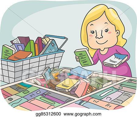 Girl Book Sale Selection
