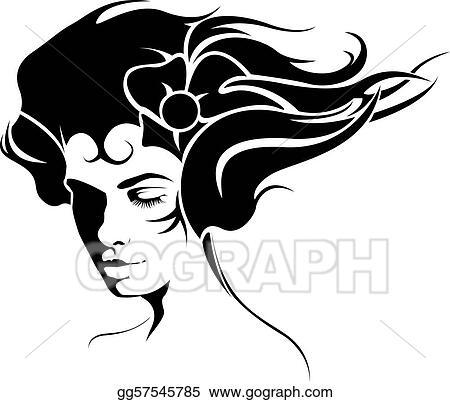 Vector Stock Girl Tattoo Clipart Illustration Gg57545785 Gograph