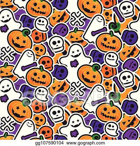 Halloween Stuff clip art - Set 2 - BLACK AND WHITE - Melonheadz Clipart