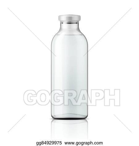 Glass Medical Bottle With Aluminium Cap