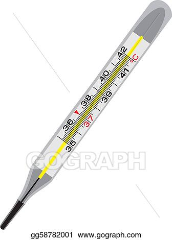 Glass Thermometer Clip Art
