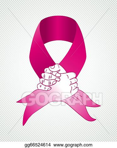 Clip Art Vector Global Collaboration Breast Cancer Awareness