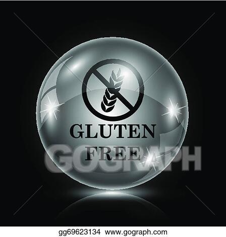 Clip Art Vector - Gluten free icon  Stock EPS gg69623134