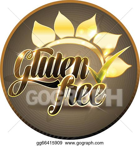 Vector Clipart - Gluten free sign  Vector Illustration gg66415909