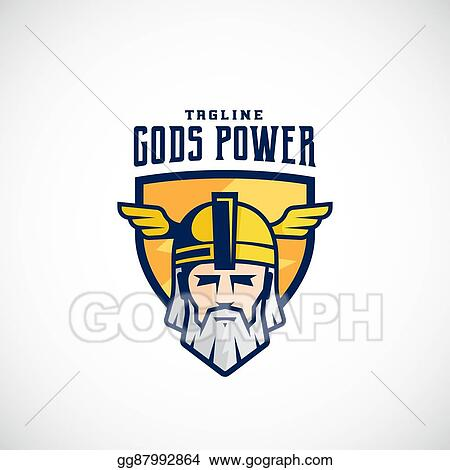 Vector Clipart - Gods power vector sport team or league logo ...