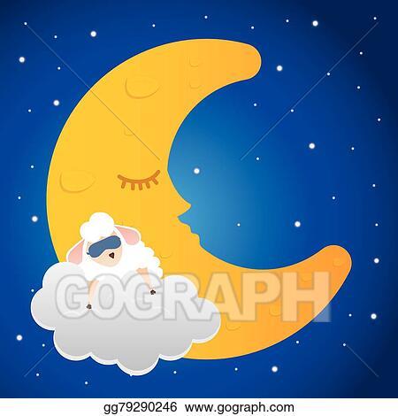 Vector Stock Good Night Design Stock Clip Art Gg79290246 Gograph