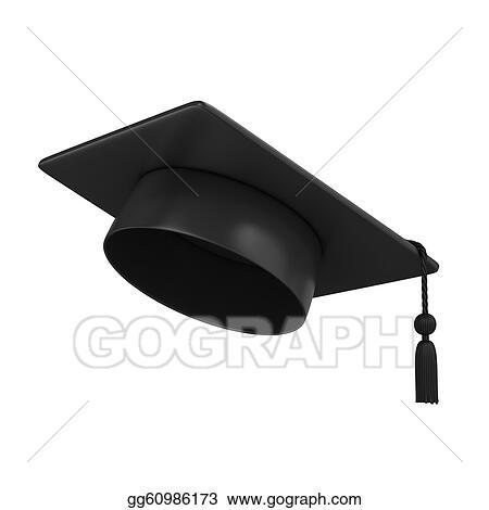 Drawings - Graduation cap . Stock Illustration gg60986173 - GoGraph ff945f23046