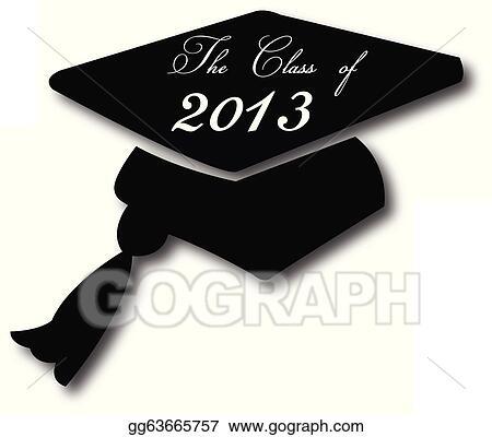 Cartoon Graduation Hat 2013