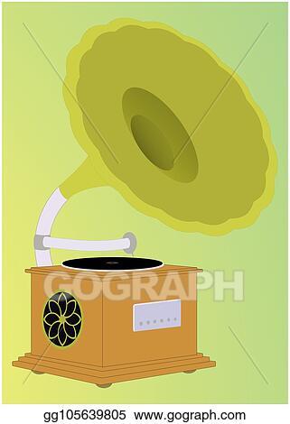 vector illustration gramophone vector illustration stock clip art gg105639805 gograph gograph