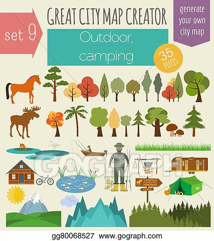 Vector Illustration - Great city map creator. EPS Clipart ... on map making, map projection, map north, world map outline, map of germany, map name, map scale, map star, map of us national parks, map illustrator, map of c, map of canada, map pushpin icon, map background, map country, map of europe and united states, map history, map layers, map title, map colors, site map creator, map marker, grid map, map of westeros, map of africa, map world,