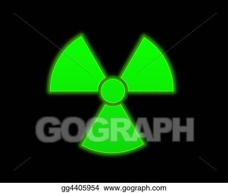 Stock Illustration Green Radioactive Symbol Clip Art Gg4405954