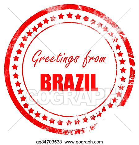 Clipart greetings from brazil stock illustration gg84703538 gograph clipart greetings from brazil card with some soft highlights stock illustration gg84703538 m4hsunfo