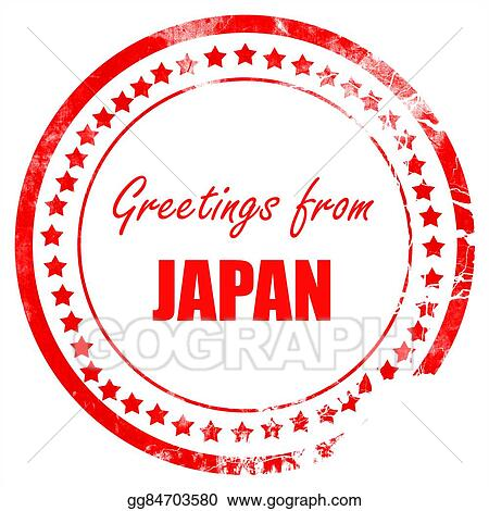 Drawing greetings from japan clipart drawing gg84703580 gograph drawing greetings from japan card with some soft highlights clipart drawing gg84703580 m4hsunfo